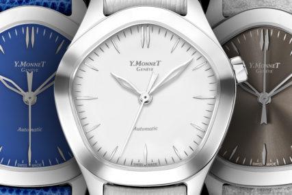 Mina Watch, montre dame, montre pentagonale, design watch